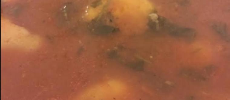 קובה סולת בסלרי וברוטב עגבניות משגע