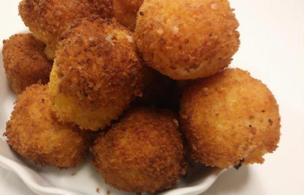 כדורי תפוחי אדמה קריספיים ממכרים שילדים אוהבים